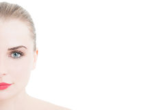 Make-up and beauty concept with blank copy space Stock Image