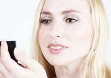 Make-up: Blond girl 15 Royalty Free Stock Images