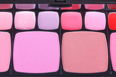 Make-up blush palette Royalty Free Stock Photos