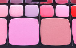 Make-up blush palette Royalty Free Stock Images