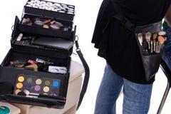 Make-up box Royalty Free Stock Image