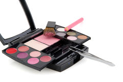 Make up box Royalty Free Stock Images