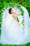 Make-up for bride Royalty Free Stock Images