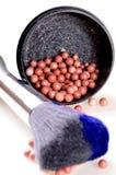 Make-up brush Stock Photography