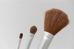 Make up brush Royalty Free Stock Images