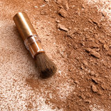 Make-up brush Royalty Free Stock Images