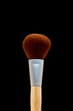 A make-up brush on black Royalty Free Stock Photo