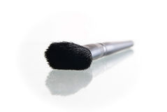 Make-up brush isolated on the white background Stock Image