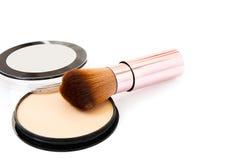 Make up brush Stock Image