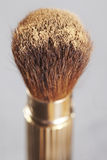 Make up brush with powder Royalty Free Stock Photo