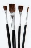 Make-up Brush Set Stock Photo