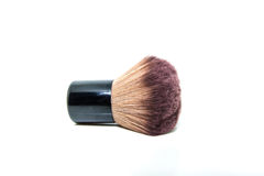 Make-up brush. On white background for make up and girl Royalty Free Stock Photos