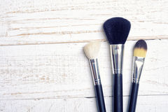 Make up brush Stock Image