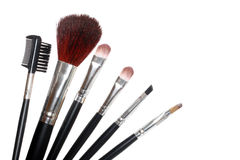 Free Make-up Brushes Royalty Free Stock Image - 11792886