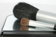 Make Up Brushes Royalty Free Stock Image