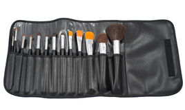 Make-up brushes Royalty Free Stock Photos