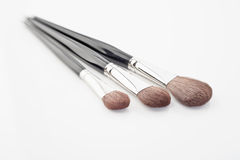Make-up brushes Royalty Free Stock Photography