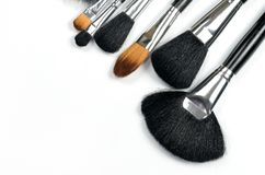 Make Up Brushes Stock Photo