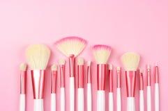 Make-up brushes Royalty Free Stock Photography