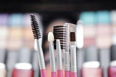 Make-up brushes Royalty Free Stock Photo