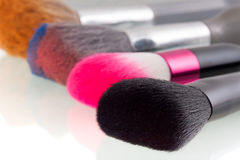 Make up brushes Royalty Free Stock Photos