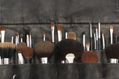Make-up brushes. stock image