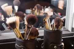 Make up Brushes royalty free stock images