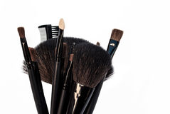 Make Up Brushes Royalty Free Stock Photography