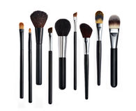 Free Make-up Brushes Royalty Free Stock Photography - 36514627