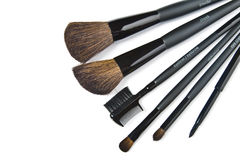 Make-up brushes Stock Photography