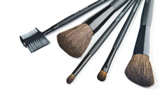 Make-up brushes Stock Photo