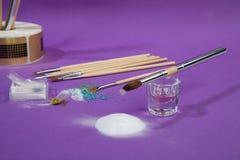 Make Up Brushes Royalty Free Stock Photography