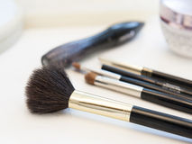 Make up brushes Royalty Free Stock Photo