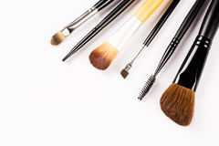 Make up brushes Stock Images