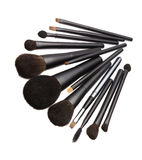 Make-up Brushes Royalty Free Stock Photo