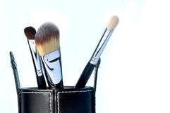 Make up brushes Stock Image