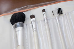Make up brushes Stock Photos