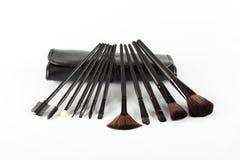 Make up brushes SET Royalty Free Stock Images