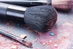 Make up brushes Stock Photography