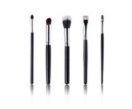Make-up Brushes. On white background Royalty Free Stock Image
