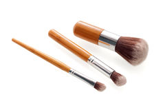 Make up brushes Stock Photography