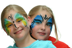 Make up for the carnival Stock Photos