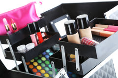 Make up case Royalty Free Stock Images