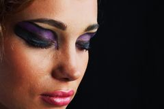 Make up close up Royalty Free Stock Photos