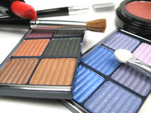 Make-up close-up. A close-up picture of some make-up items Royalty Free Stock Photography