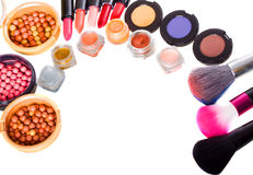Make up collection Stock Photo