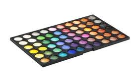Make-up colorful eyeshadow palettes Royalty Free Stock Image