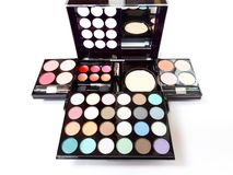 Make-Up Colorful Eyeshadow Palettes !!. Make-Up Colorful Eyeshadow Palettes stock photo