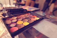 Make up colors Royalty Free Stock Photography