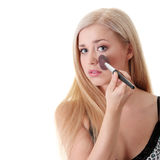 Make-up concept Royalty Free Stock Images